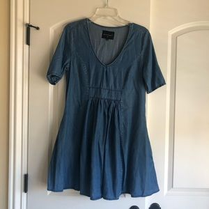 Brand new without tags, tencel dress with ruching